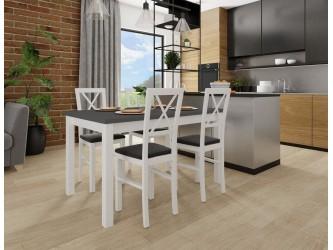 Zestaw Stół Max 5 i 4 krzesła Milano 4